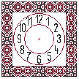 Wzór graficzny - Zegar etniczny II