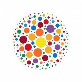Wzór graficzny - Feeria barw