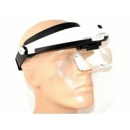 Lupa-Okulary, powiększa 1.0x - 6.0x.