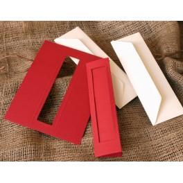 949-15 Zakładki z prostokątnym psp czerwone