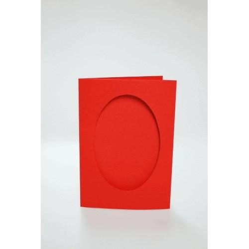943-04 Kartki z owalnym psp czerwone