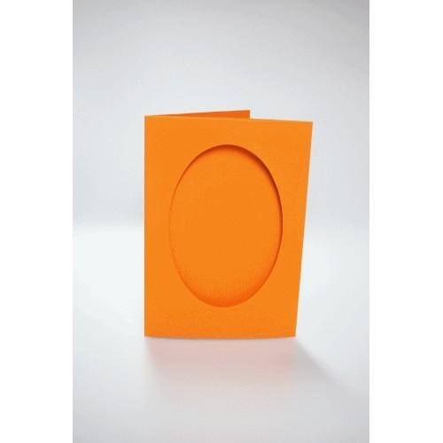Kartki z owalnym psp pomarańczowe