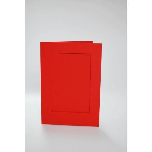 Kartki z prostokątnym psp czerwone