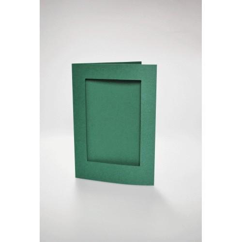 946-06 Kartki z prostokątnym psp ciemnozielone