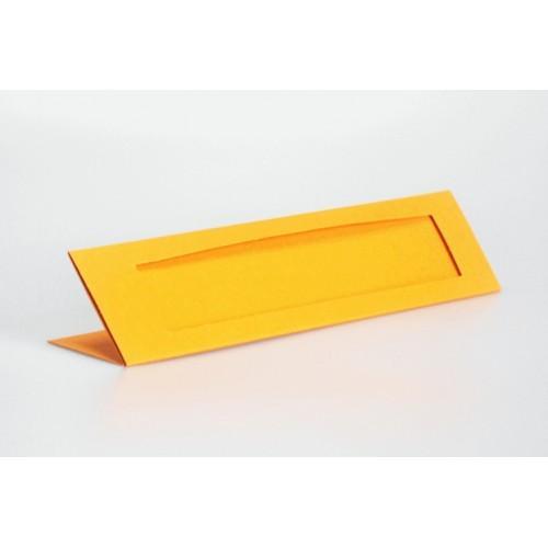 Zakładki z prostokątnym psp pomarańczowe
