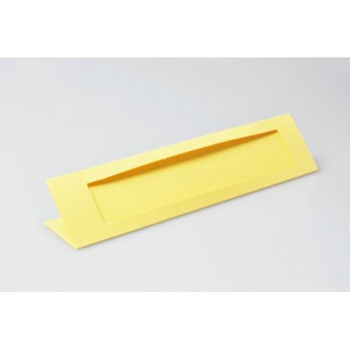 Zakładki z prostokątnym psp żółte