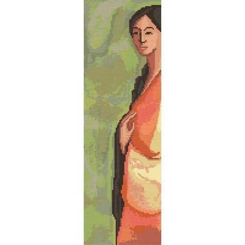 Wzór graficzny - Indianka - A. Śliwa-Klara