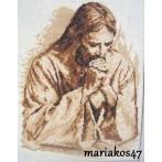 Aida z nadrukiem - Modlitwa Jezusa