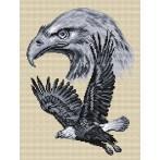 Aida z nadrukiem - Ptaki polskie - Orzeł