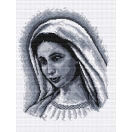 Aida z nadrukiem - Matka Boska