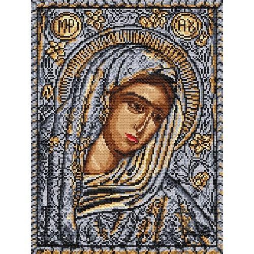 Aida z nadrukiem - Ikona Matki Boskiej