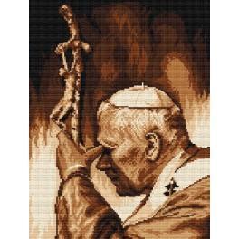 AN 4265 Aida z nadrukiem - Jan Paweł II