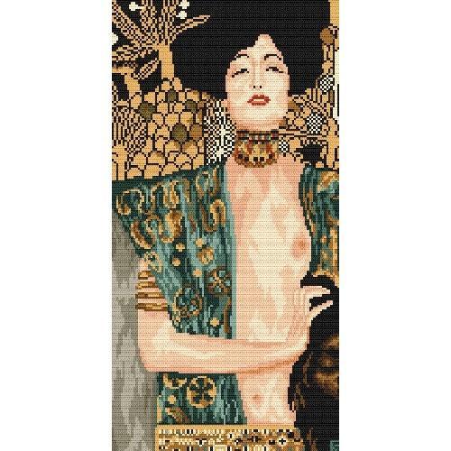 Aida z nadrukiem - Judyta z głową Holofernesa - G. Klimt