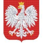Aida z nadrukiem - Godło Polski