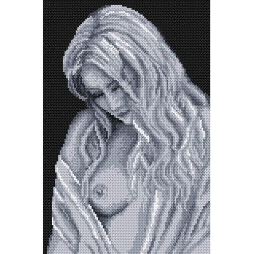 Aida z nadrukiem - Anielska