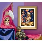 Aida z nadrukiem - Tajemnicza maska