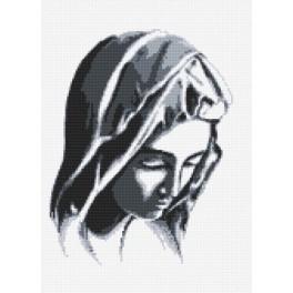 AN 8272 Aida z nadrukiem - Pieta wg Michała Anioła