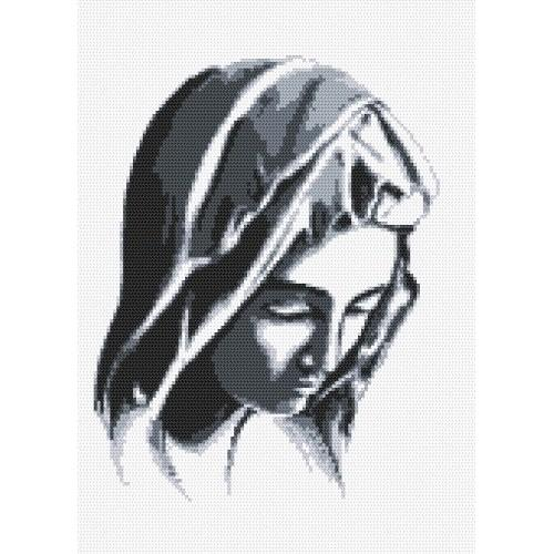 Aida z nadrukiem - Pieta wg Michała Anioła