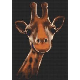 Aida z nadrukiem - Żyrafa