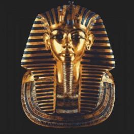 Aida z nadrukiem - Złota maska Tutenchamona