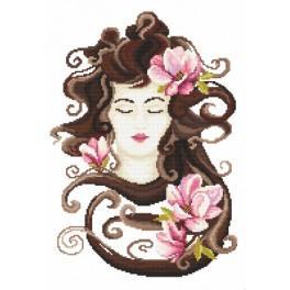Aida z nadrukiem - Wiosenna świeżość