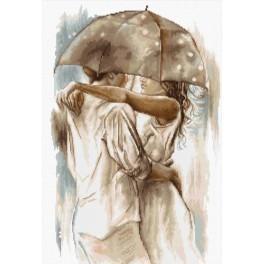 Zestaw z muliną - Pod parasolem