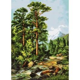 Zestaw z muliną - Górska rzeka