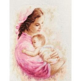 Zestaw z muliną - Matka z dzieckiem