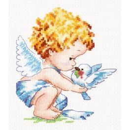 Zestaw z muliną - Jasny aniołek