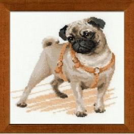Zestaw z muliną - Pug Dog