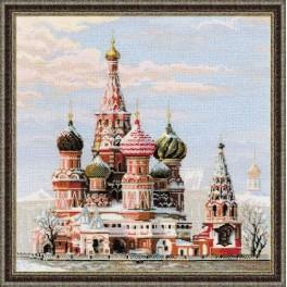 Zestaw z muliną - Moskwa. Cerkiew Wasyla Błogosławionego