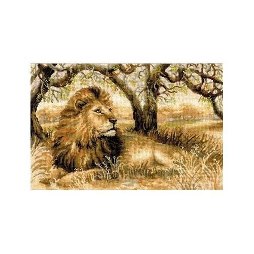 Zestaw z muliną - Król zwierząt