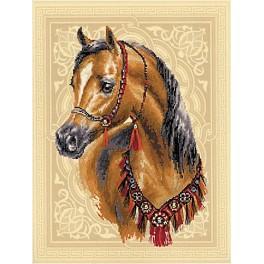Zestaw z muliną i podmalowanym tłem - Arabski skarb