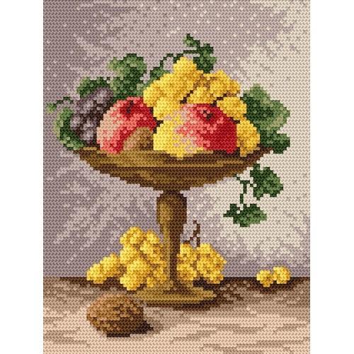 Zestaw z muliną - Klosz z owocami
