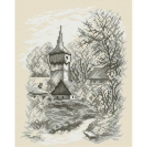 Z 4035 Zestaw do haftu - Kościółek