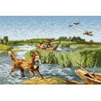 Zestaw z muliną - Polowanie na kaczki