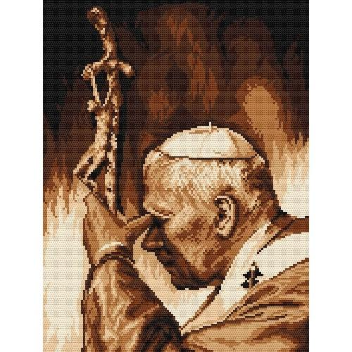 Zestaw z muliną - Jan Paweł II