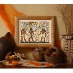 Zestaw z muliną - Egipskie malowidło