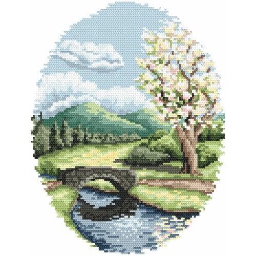 Zestaw z muliną - Wiosna