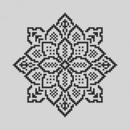 Zestaw z muliną - Haftowana koronka IV