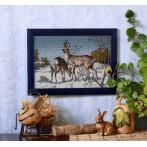 Zestaw z muliną - Jeleń i sarna