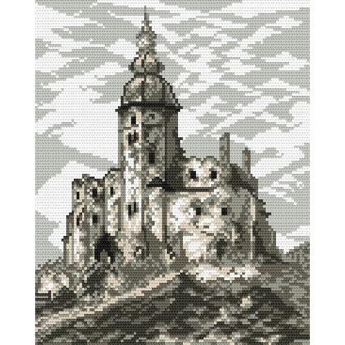 Zestaw z muliną - Zamek w Siewierzu