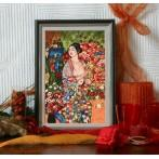 Zestaw z muliną - G. Klimt - Tancerka