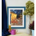 Zestaw z muliną - Nocna kawiarnia - Van Gogh