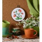 Zestaw z muliną - Słodkie truskawki