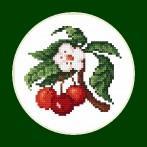 Zestaw z muliną - Wyśmienite czereśnie