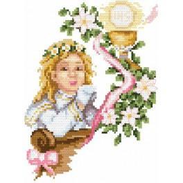 Zestaw z muliną - B. Sikora - Komunia dziewczynki