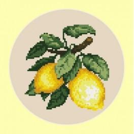Zestaw z muliną - Apetyczne cytryny
