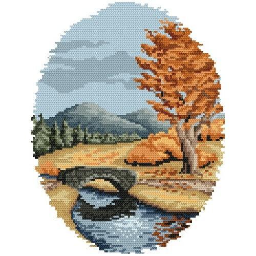 Zestaw z muliną - Jesień