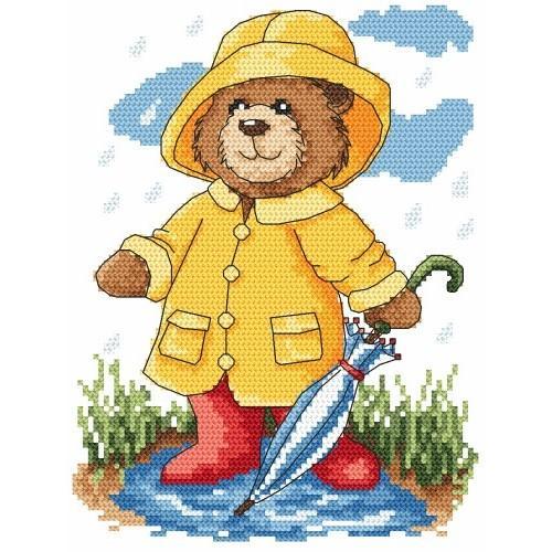 Zestaw z muliną - Letni deszczyk